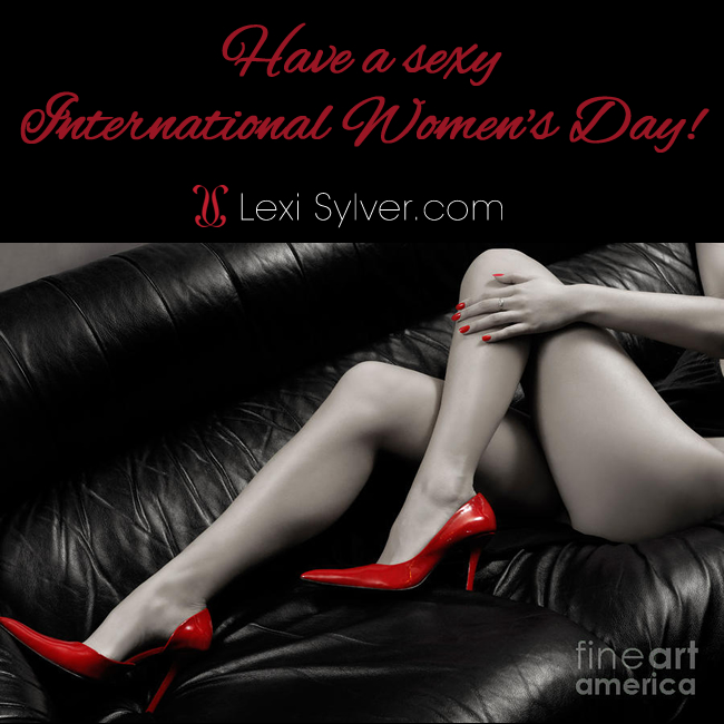 happy-international-womens-day-march-8-2015-sexy-woman-red-shoes-lexisylver | LexiSylver