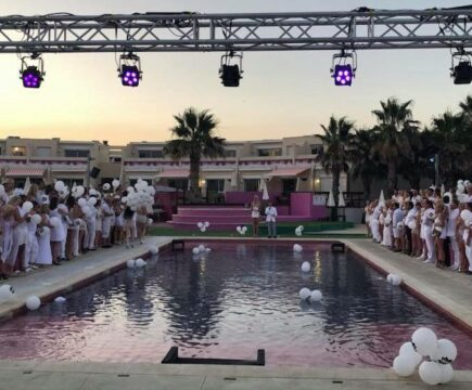 Lexi Sylver with L'Orage Club and SDC at Cap d'Agde 2018 | SDC Wedding Ceremony Night