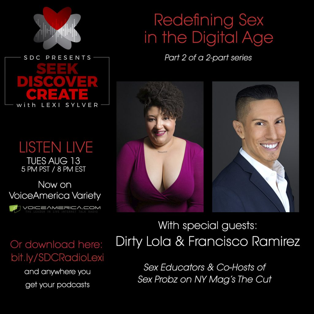 Dirty Lola Francisco Ramirez Sex Probz NY Mag The Cut Lexi Sylver SDC Podcast