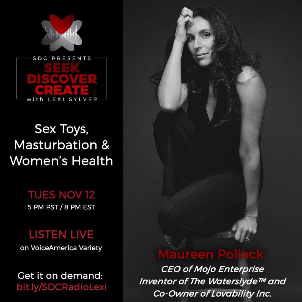 Maureen Pollack x Lexi Sylver SDC Erotic Podcast  | Sex Toys Masturbation and Women's Health