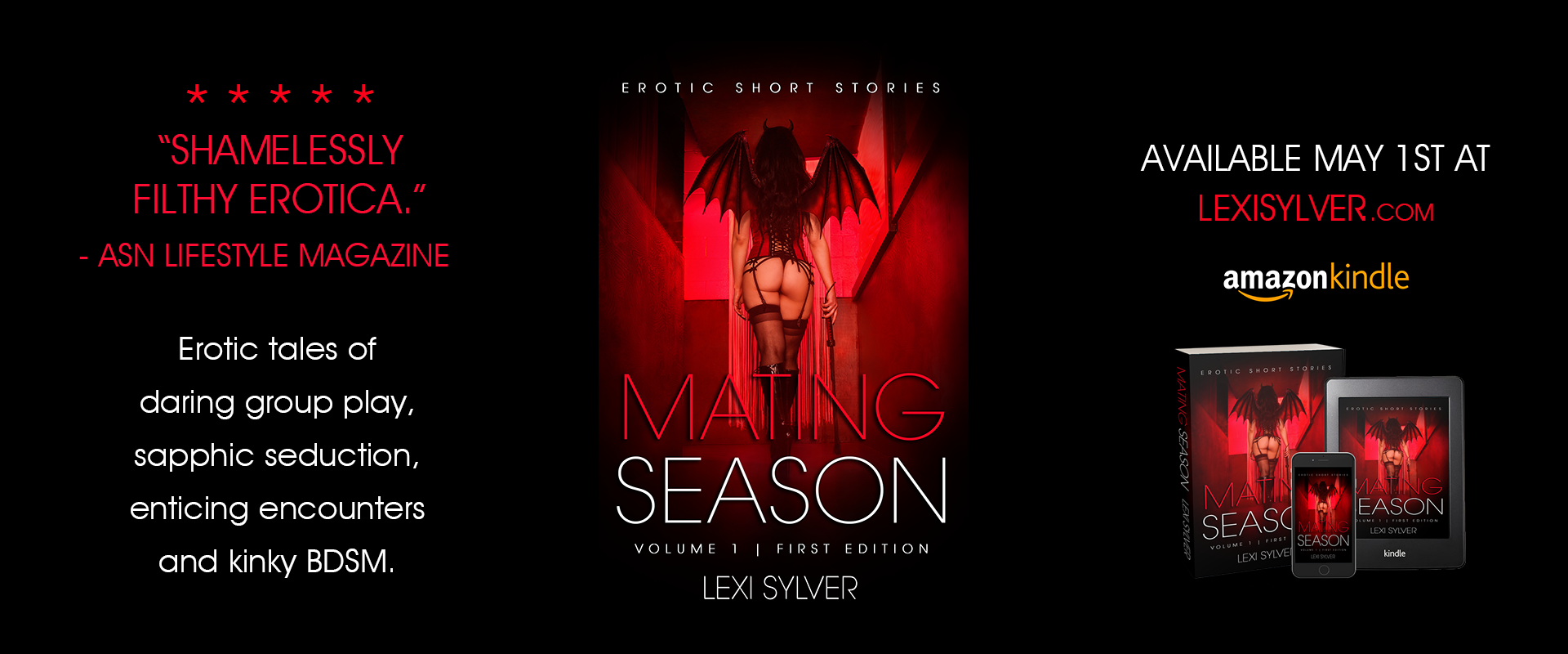 Mating Season Erotic Short Stories Lexi Sylver Cover
