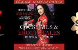 Lexi Sylver SDC Cocktails & Erotic Tales Livestream
